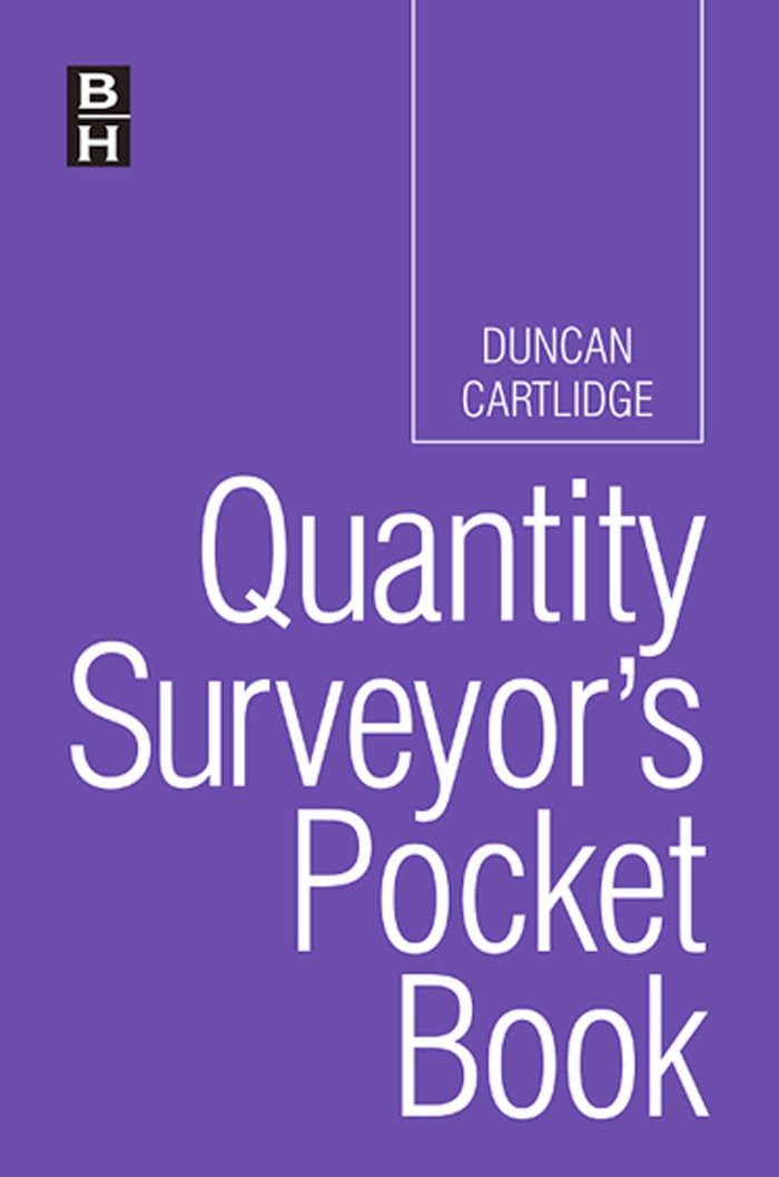 Book: Quantity Surveyor's Pocket Book by Duncan Cartlidge FRICS