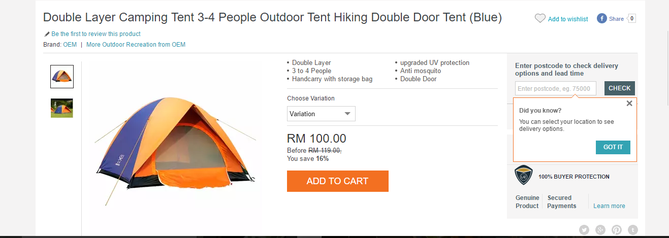 http://www.lazada.com.my/double-layer-camping-tent-3-4-people-outdoor-tent-hiking-doubledoor-tent-blue-20910532.html