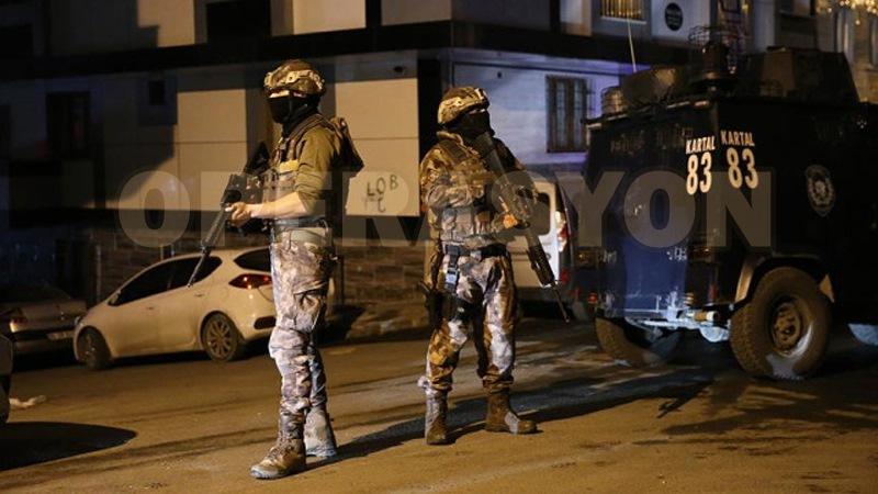 41 farklı adrese IŞİD operasyonu
