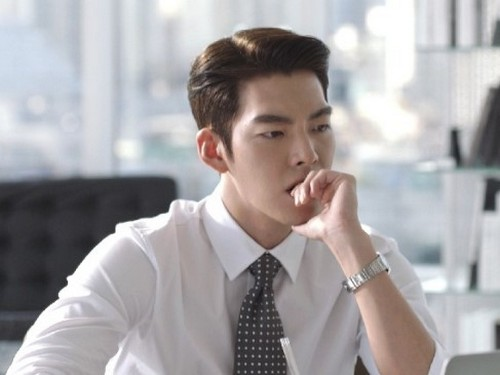 Model Rambut Pria Korea Slicked Back