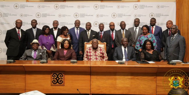 President Akufo-Addo Inaugurates Council On Foreign Relations Ghana