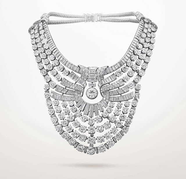 Queen Nazli's Van Cleef and Arpels necklace.