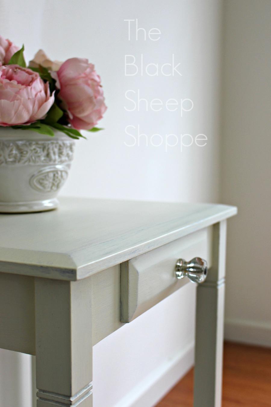 Beautiful painted nightstand