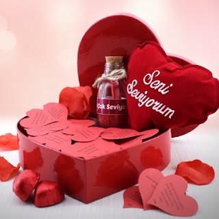 365 Aşk Mesajı Hediyesi