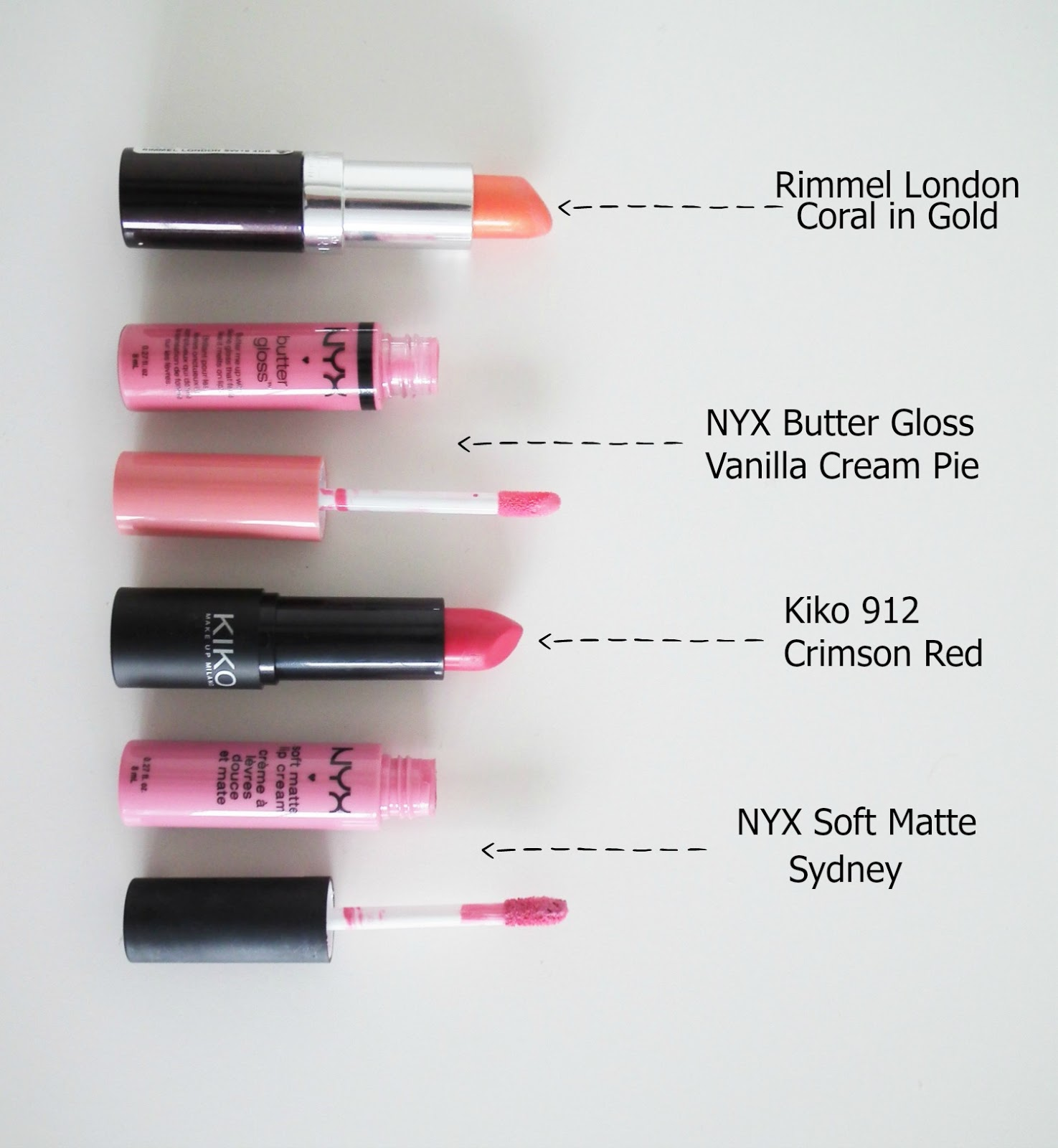Summer Go To Lip Products
