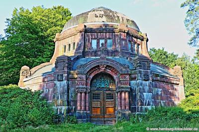 Alte Kapelle auf dem Ohlsdorfer Friedhof