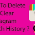Clear Search History Instagram App