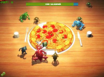 餐桌怪獸(食物保衛戰、Table Monsters),很不錯的動作休閒遊戲!