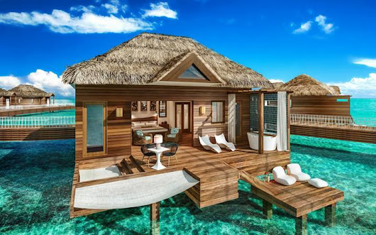 Overwater Bungalows Now At Sandals Grande St Lucian!