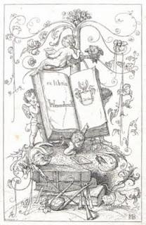 Exlibris Otto Wesendonck