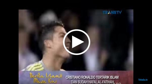 SUBHANALLAH!!!VIDEO Cristiano Ronaldo Hafal Al-Fatihah buat Orang Ramai Sebak Mendengarnya...TErbaiklah CRISTiano Ronaldo..Semoga menjadi muslim yang Sejati