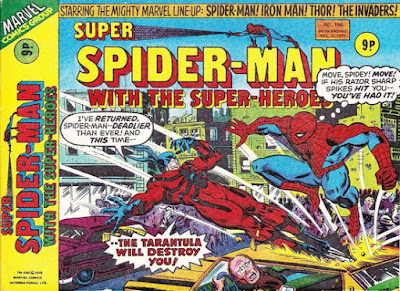 Super Spider-Man with the Super-Heroes #196, the Tarantula