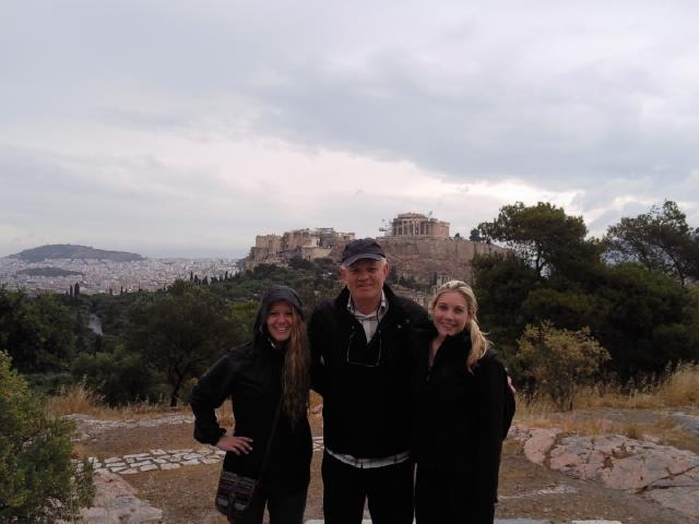 A walk to an inspiring location in Athens