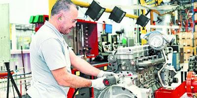 Demanda por ônibus e caminhões impulsiona a produção de motores