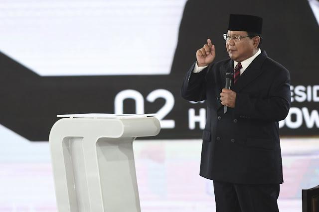 Prabowo ke Jokowi: Pendukung Anda Tuduh Saya Pro-khilafah, Sungguh Kejam