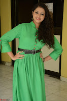 Geethanjali in Green Dress at Mixture Potlam Movie Pressmeet March 2017 036.JPG