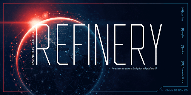 Refinery Font Family Download Font Free