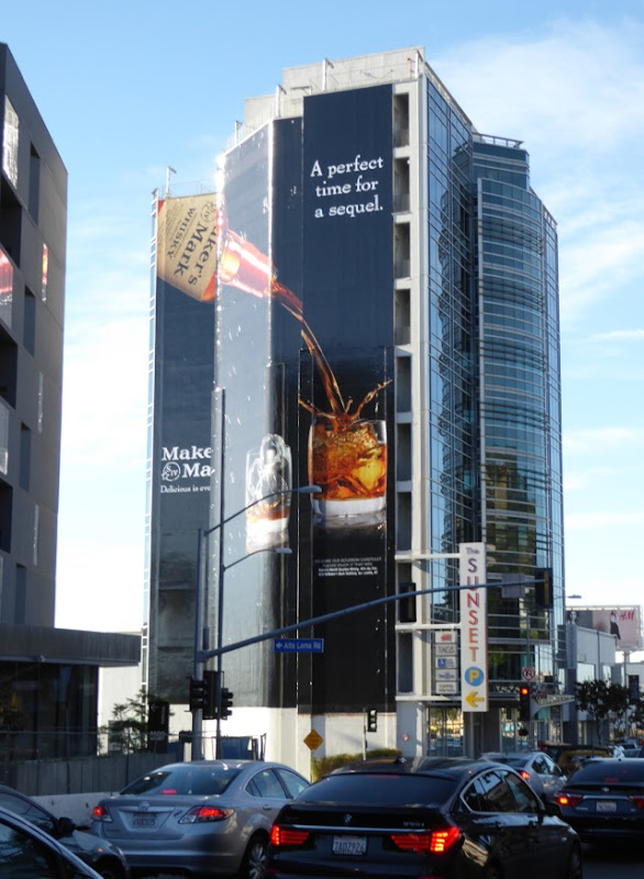 Giant Makers Mark perfect time for sequel billboard Sunset Strip