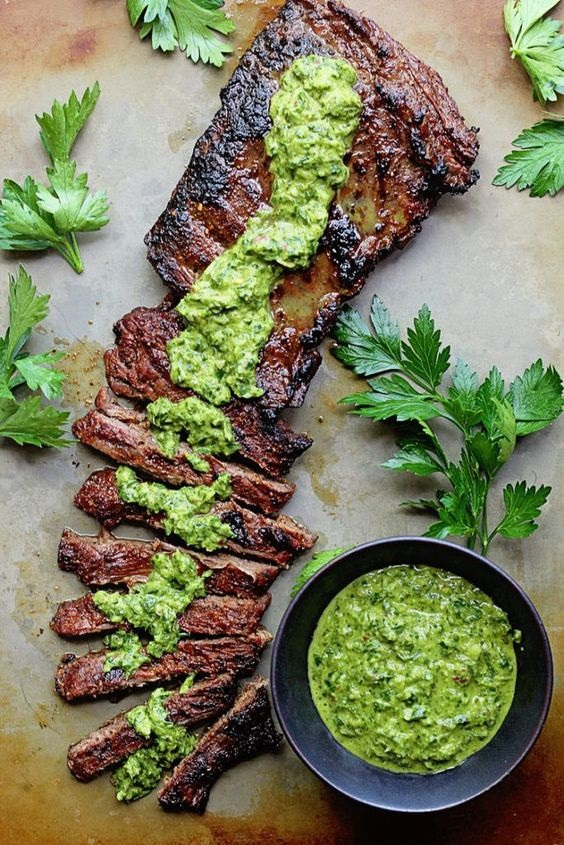 Skirt Steak Marinade Recipe With Chimichurri Recipe