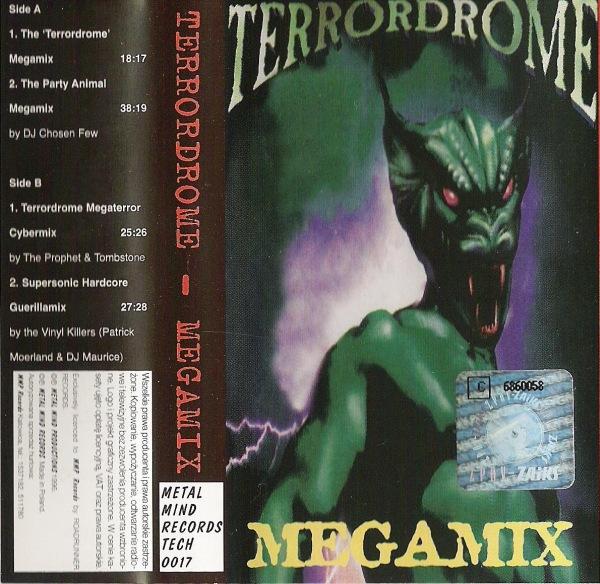 Terrordrome megamix kazetta 1996-ból