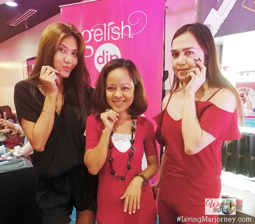 Gelish Dip launch in Manila