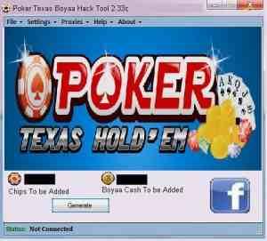 Poker Texas Boyaa Hack Tool