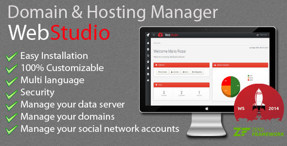 Web Studio - Domain & Hosting Manager Nulled