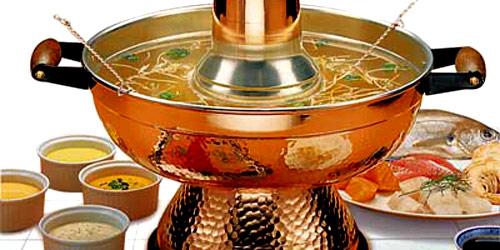chinese fondue sausjes