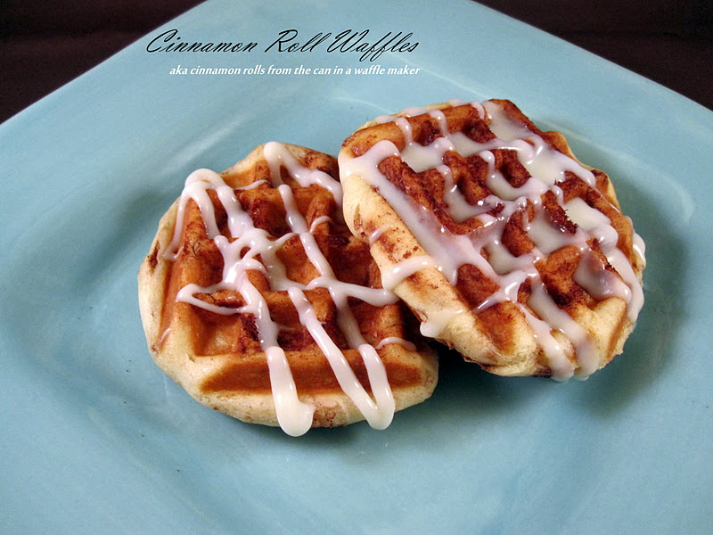 The Apron Gal: Cinnamon Rolls in the Waffle Maker