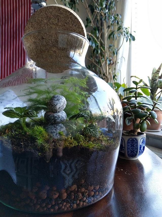 jungle in a jar: free tutorial