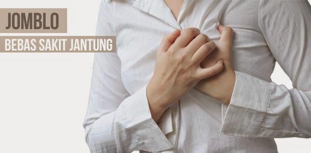 Jomblo Bisa Menurunkan Resiko Sakit Jantung