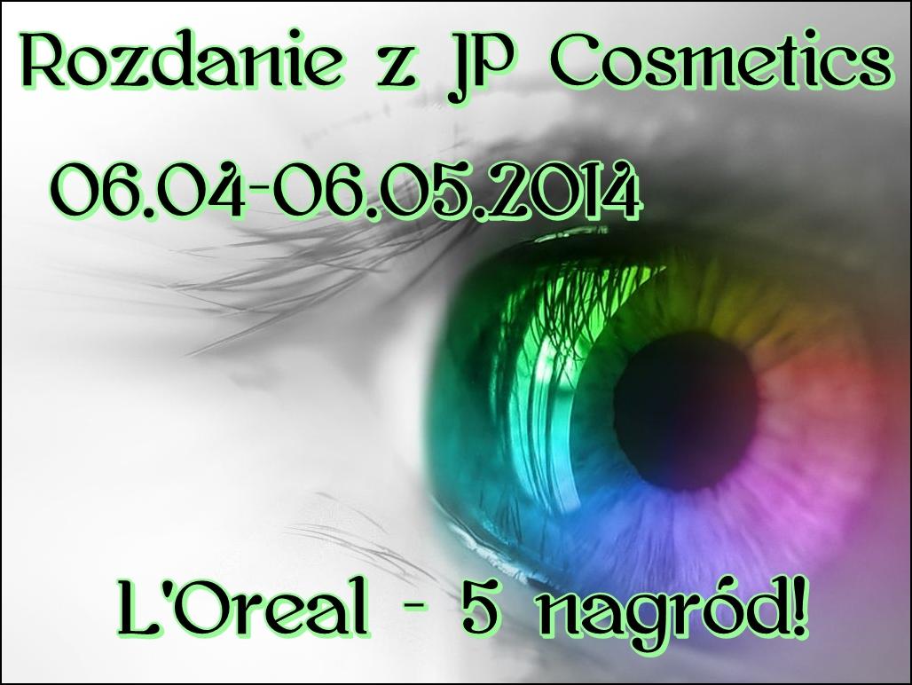 ROZDANIE Z JP COSMETICS - 5 NAGRÓD!