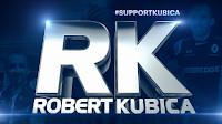 Wsparcie Roberta Kubicy F1 Formuła 1 supportkubica