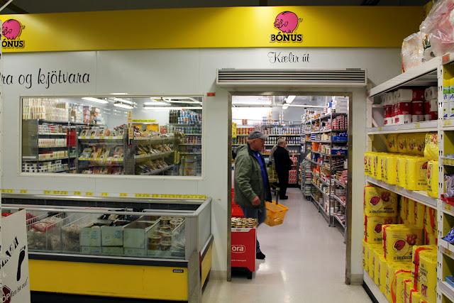 Supermercado Bonus en Islandia