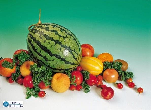 Consumir verduras y frutas