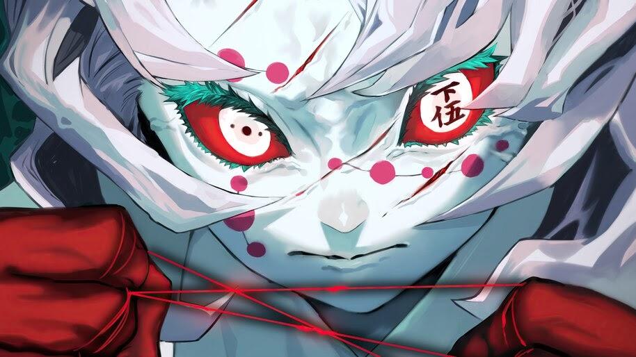 Rui, Twelve Demon Moons, Kimetsu no Yaiba, 4K, #3.1469