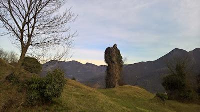 Giardini di pietra (Rock Gardens) above Zogno.