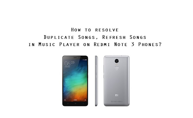 duplicate music files song history issue miui redmi phone