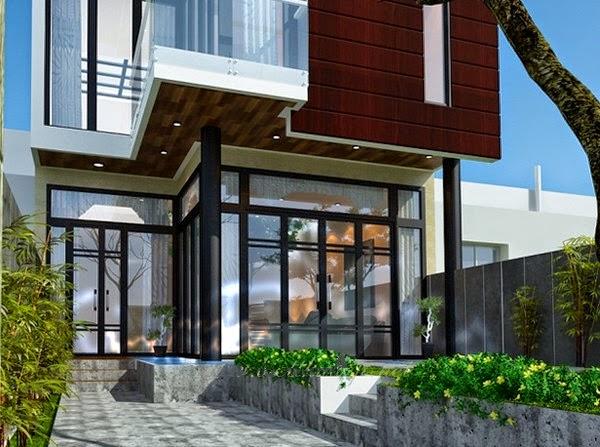 Thiết kế mẫu biệt thự đẹp 2 tầng hiện đại 1 |  Mẫu nhà biệt thự