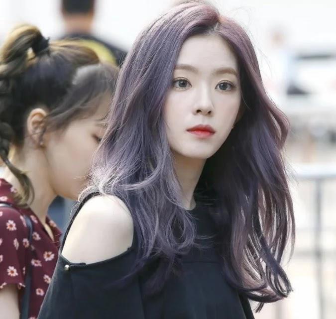 6 Idola K-Pop Yang Terlihat Sempurna Dengan Rambut Bewarna Ungu