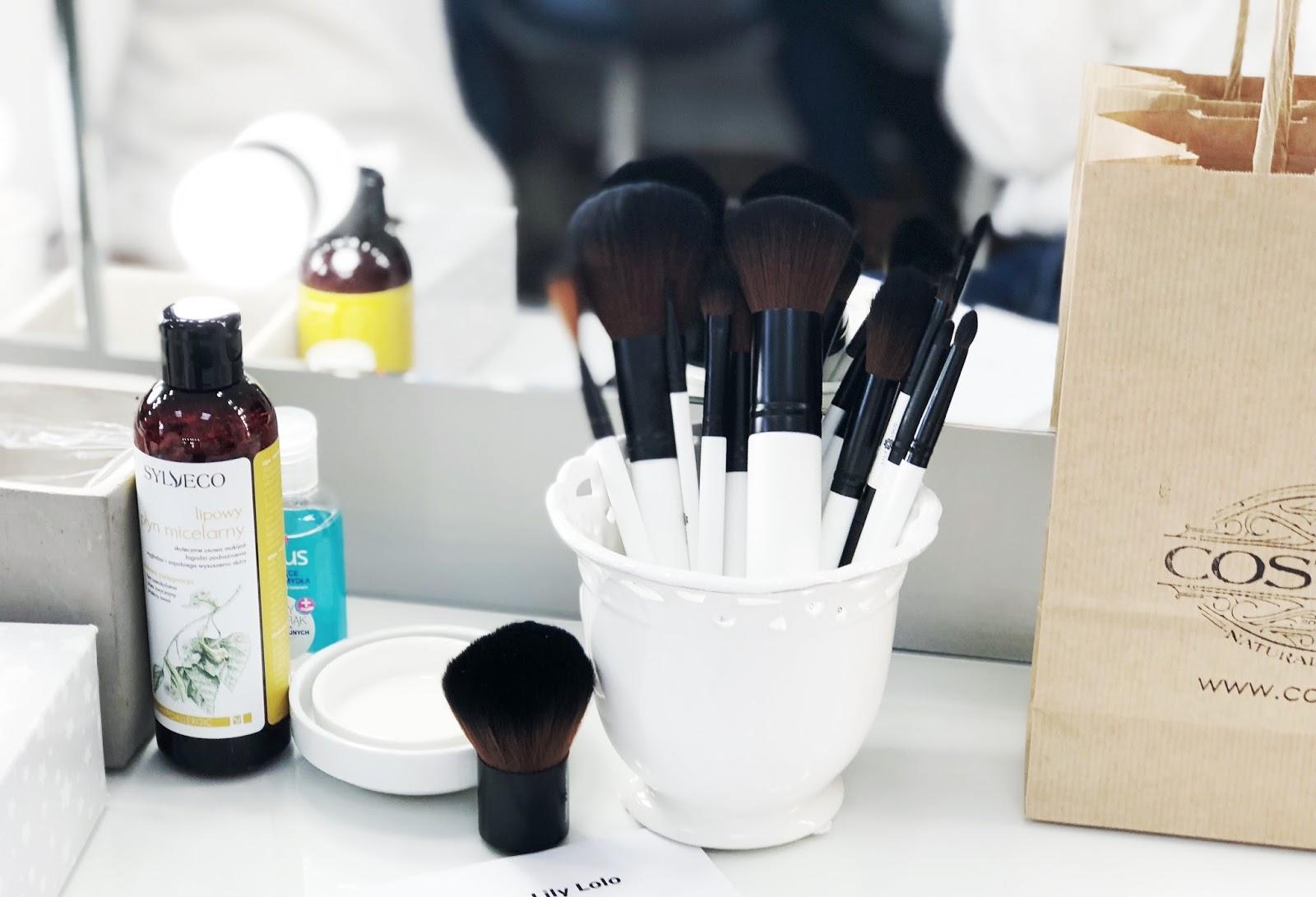 Warsztaty makijażu mineralnego Costasy | Nowe produkty Lily Lolo