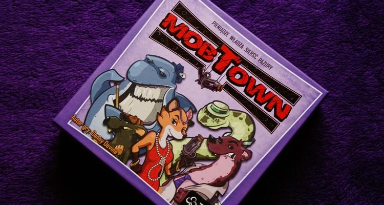Mob Town pudełko