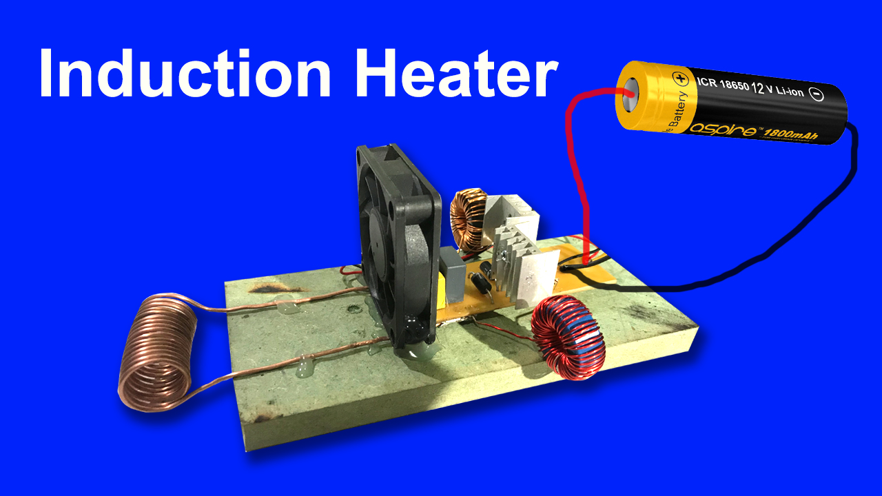 How Does Induction Heater High Voltage With K3469 Circuit Heating Circuits