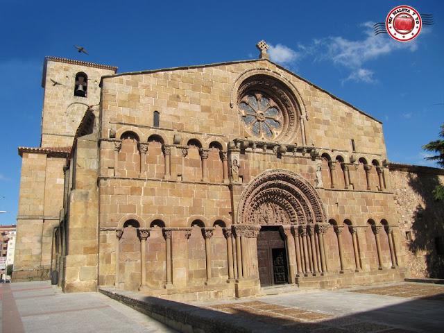 Iglesia de Santo Domingo en Soria, España