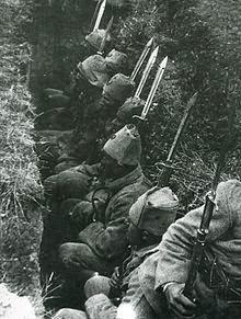 Turcos en trincheras (1922)
