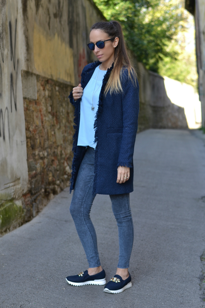 cappottino bonton blu