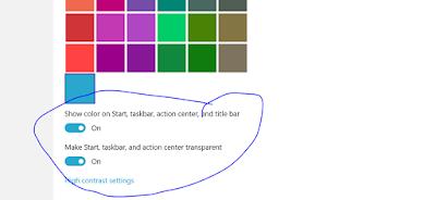 Cara Mengaktifkan Fitur Transparant di Windows 10
