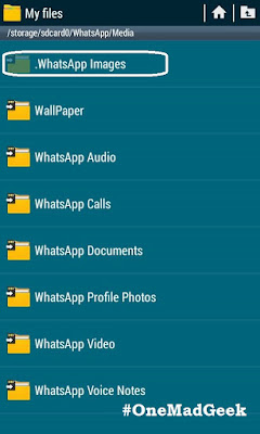 How to hide the WhatsApp Images and Videos from Gallery