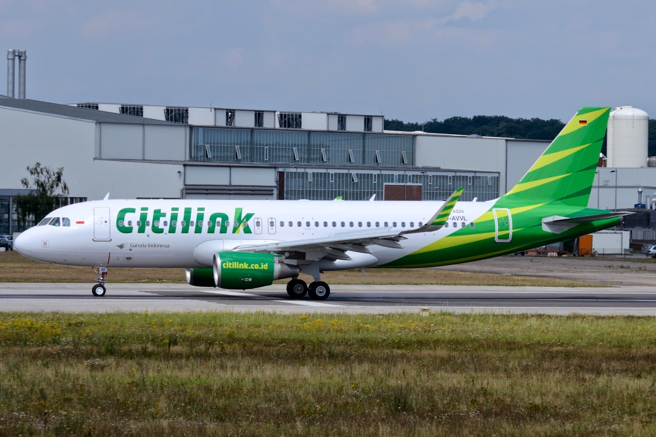 Airbus Hamburg Finkenwerder News: A320-214SL, Citilink, PK