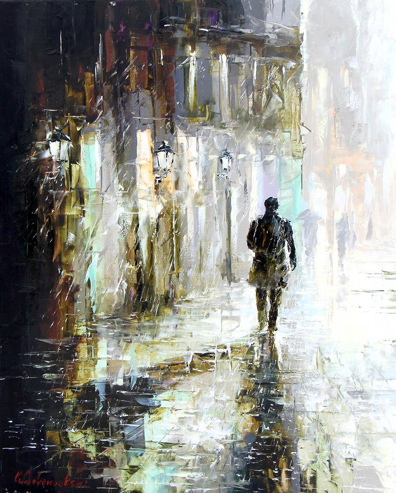 Gleb Goloubetski Walk in the rain